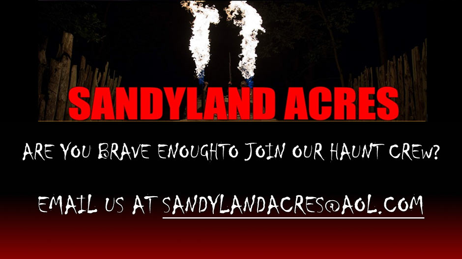 Are You Brave Enough To Join Our Haunt Crew?